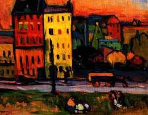Kandinsky a Monaco: la strada per l'arte