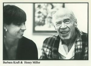 Barbara Kraft e Henry Miller