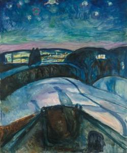 NOTTE STELLATA DI Munch