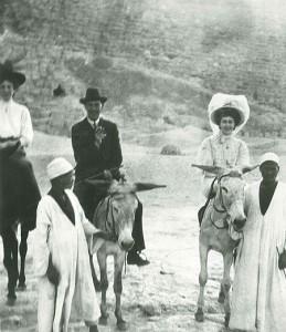 Agatha Christie con il marito Max Mallowan