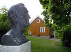 Åsgårdstrand, Casa di Munch, esterno
