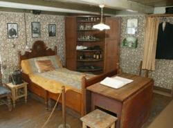 Åsgårdstrand, Casa di Munch, interni