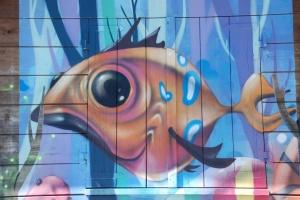 Street Art presso il Villaggio Carrao