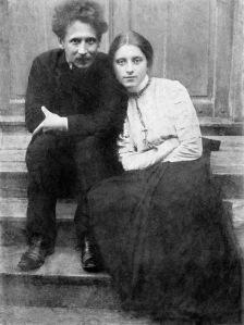 Mikalojus Konstantinas Čiurlionis con sua moglie