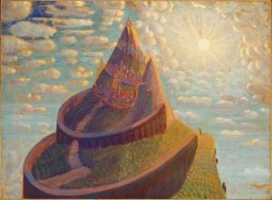Castle (Castle Fairy Tale) - Mikalojus Ciurlionis, 1909