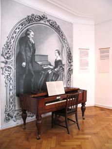 """Casa di Schumann in Bilker Straße 15, foto di Beate Bauer. Credit: """"Heinrich-Heine-Institut, Düsseldorf"""""""
