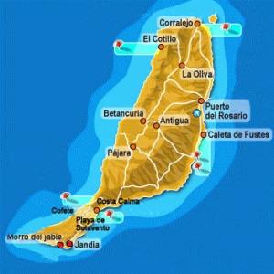 mappa_fuerteventura