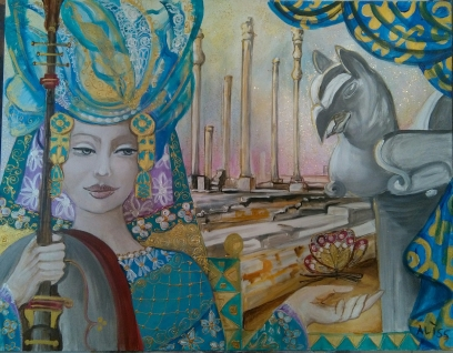 """Persepoli"" di Aliss - 70X90"