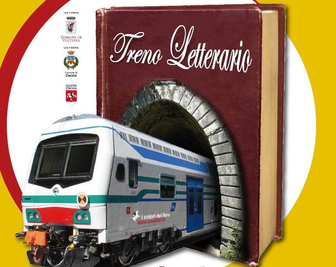 Logo treno letterario Cecina-Saline di Volterra