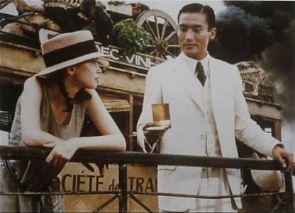 Scena del film L'amante