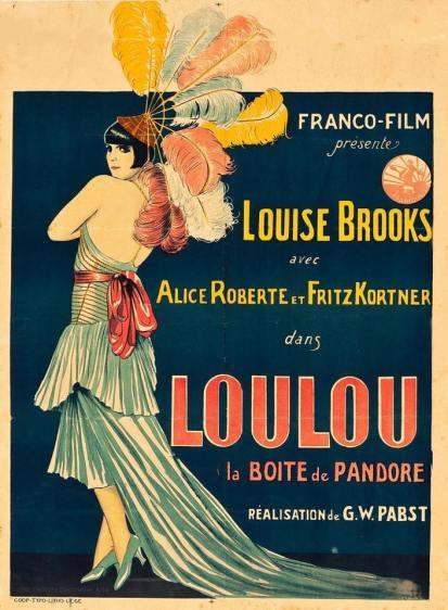 """""""Lulu - Il vaso di Pandora"""" è un film tedesco del 1929 diretto da Georg Wilhelm Pabst, ispirato alle due tragedie di Frank Wedekind """"Lo spirito e la terra"""" e """"Il vaso di Pandora""""."""