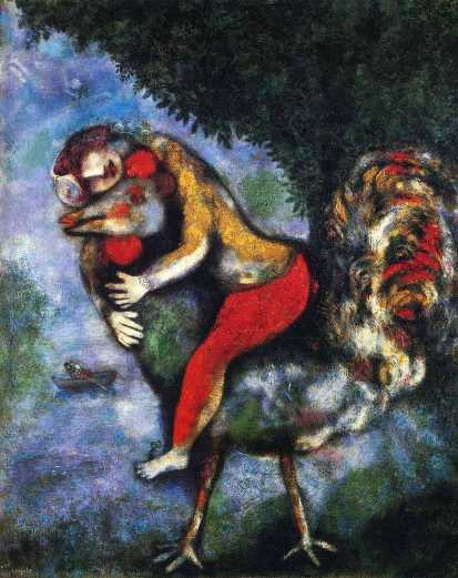 Marc-chagall-the-rooster